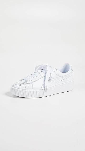 free shipping eed0f 80776 Basket Platform Ocean Sneakers
