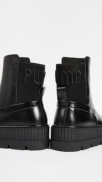 buy popular 0b472 1d7b9 FENTY x PUMA Chelsea Sneaker Boots