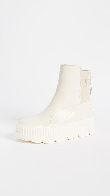PUMA FENTY x PUMA Chelsea Sneaker Boots - Vanilla