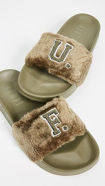 PUMA FENTY x PUMA Leadcat Faux Fur Slides