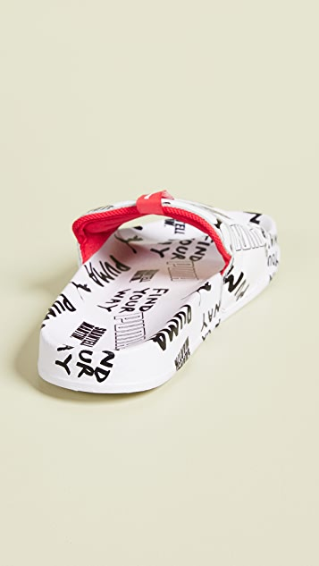 PUMA x Shantell Martin Leadcat Graphic Slides