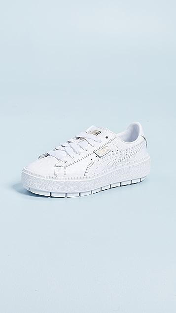 b56dac10409 PUMA Platform Trace Ostrich Sneakers
