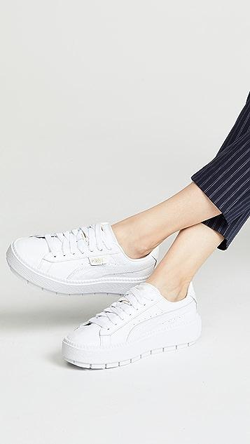 size 40 ecf4f 791f3 Platform Trace Ostrich Sneakers