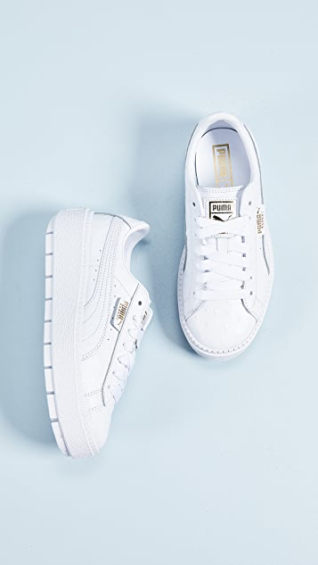 PUMA Platform Trace Ostrich Sneakers