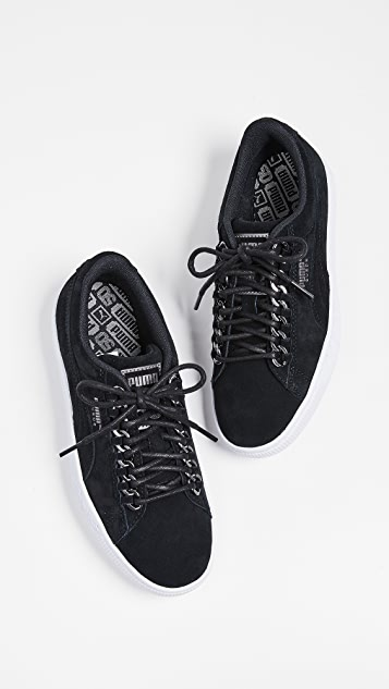 5765b80d306d8 Suede Chain Sneakers