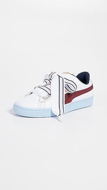 san francisco a661b c3c3a Basket Heart New School Sneakers