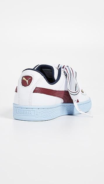 san francisco d84e2 f810f Basket Heart New School Sneakers