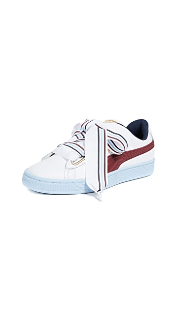 PUMA Basket Heart New School Sneakers