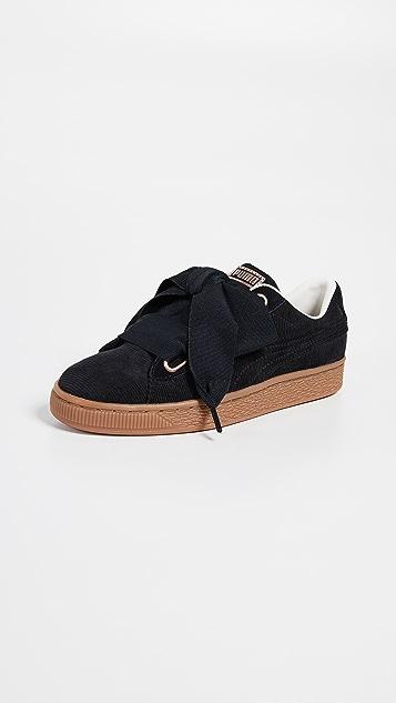 932e385398 PUMA Basket Heart Corduroy Sneakers