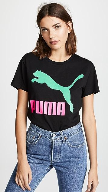PUMA Футболка PUMA Classics с логотипом