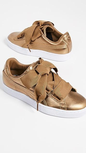 PUMA Basket Heart Luxe Sneakers ... 1cc45049e