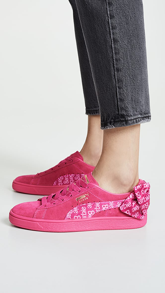 PUMA Suede Classic Sneakers with Barbie