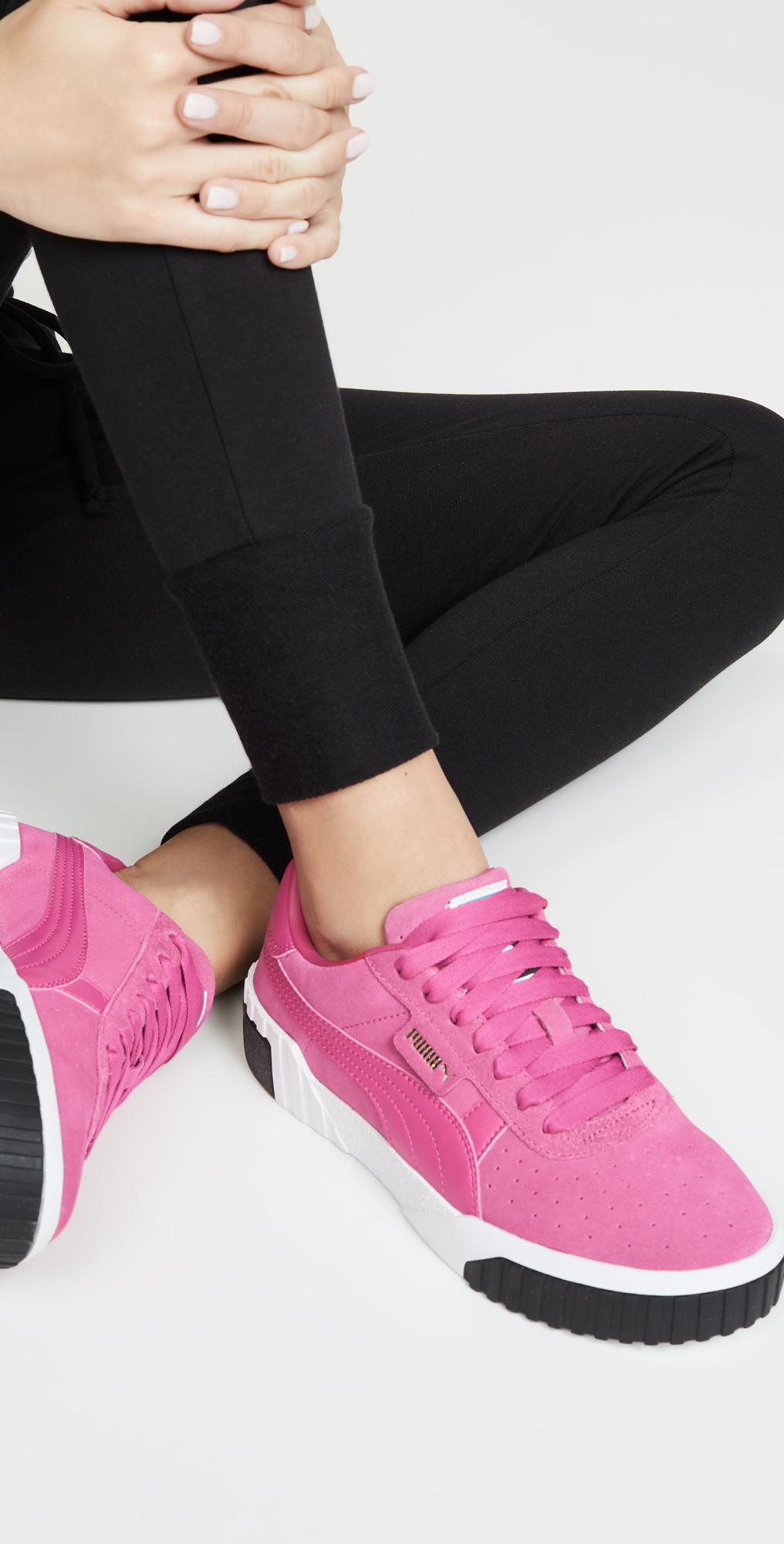 PUMA Cali Suede Sneakers   SHOPBOP