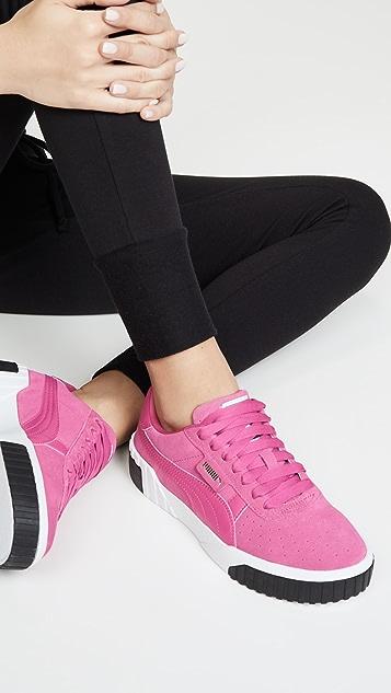 PUMA Cali 反绒皮运动鞋