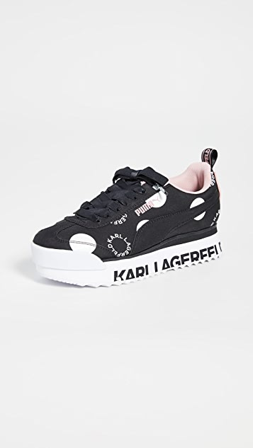 PUMA x Karl Lagerfeld Roma Amor Polka Dot Sneakers