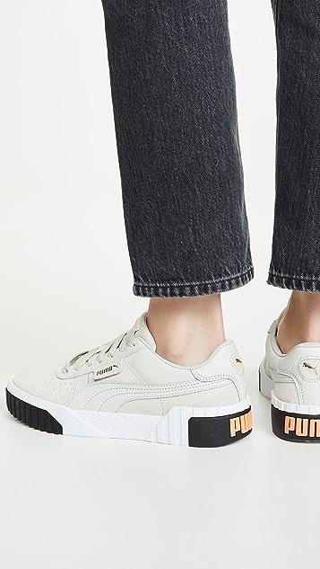 PUMA Cali Suede Sneakers
