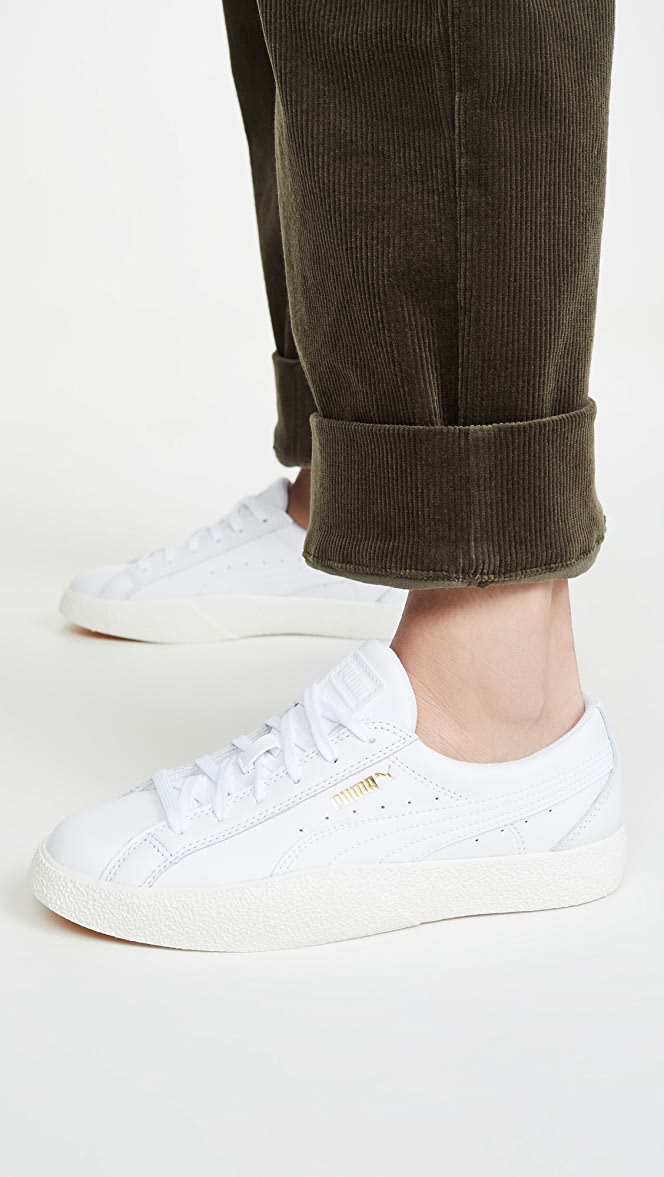 PUMA Love Leather Sneakers   SHOPBOP