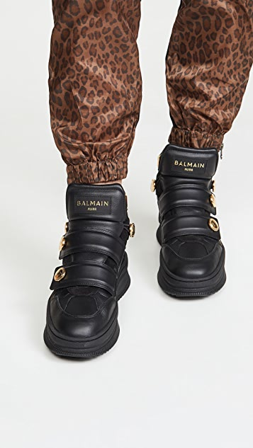 PUMA x Balmain Deva 固定带登山运动鞋