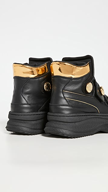 PUMA x Balmain Deva Straps Hiker Sneakers