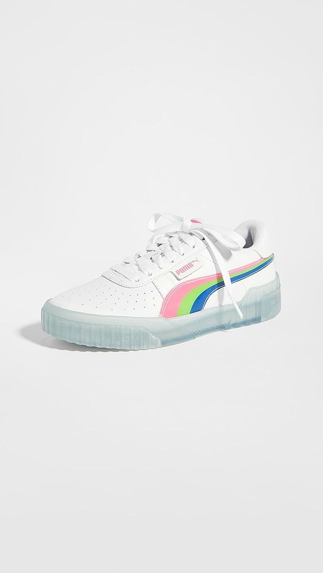 PUMA Cali Neon Iced Sneakers | SHOPBOP