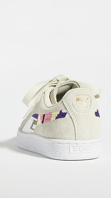 PUMA World Good 绒面革运动鞋