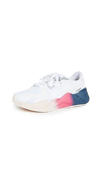 PUMA RS-X3 白色皮运动鞋