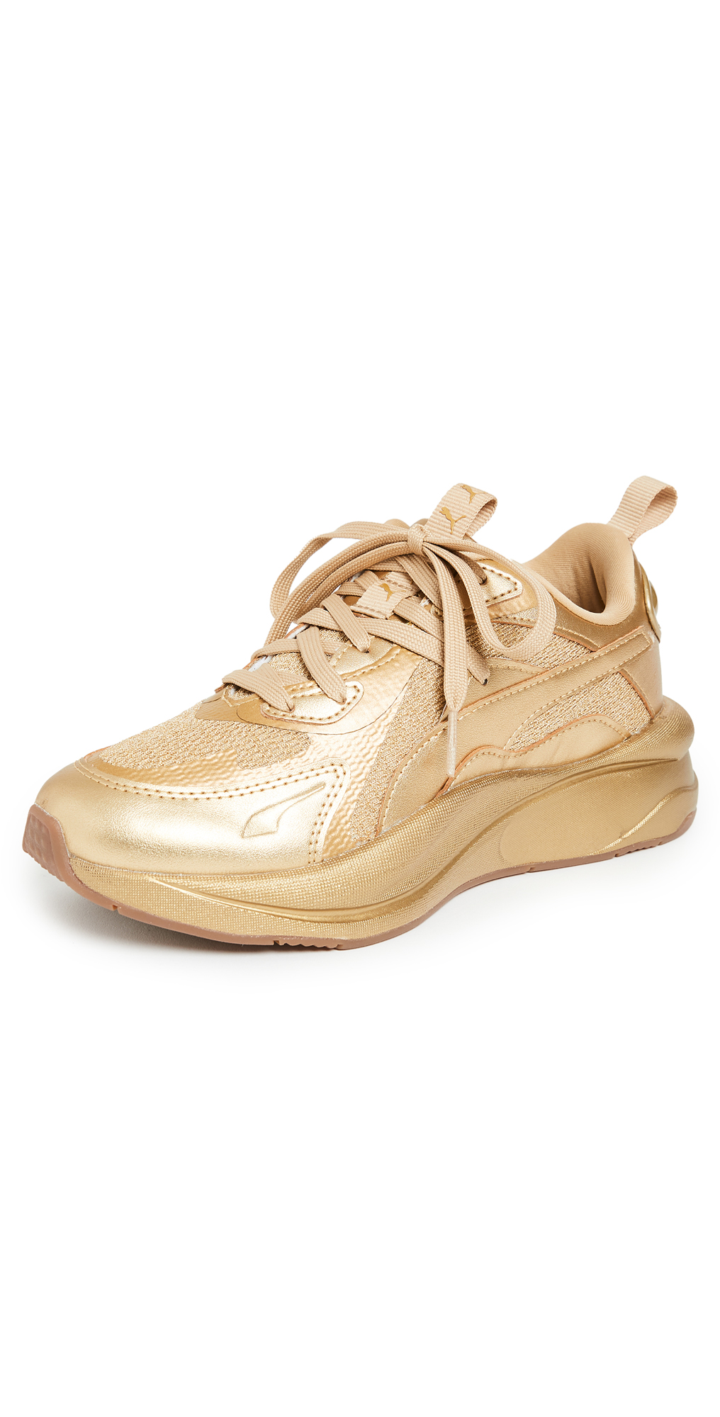 Puma Leathers RS CURVE GOLD SNEAKERS