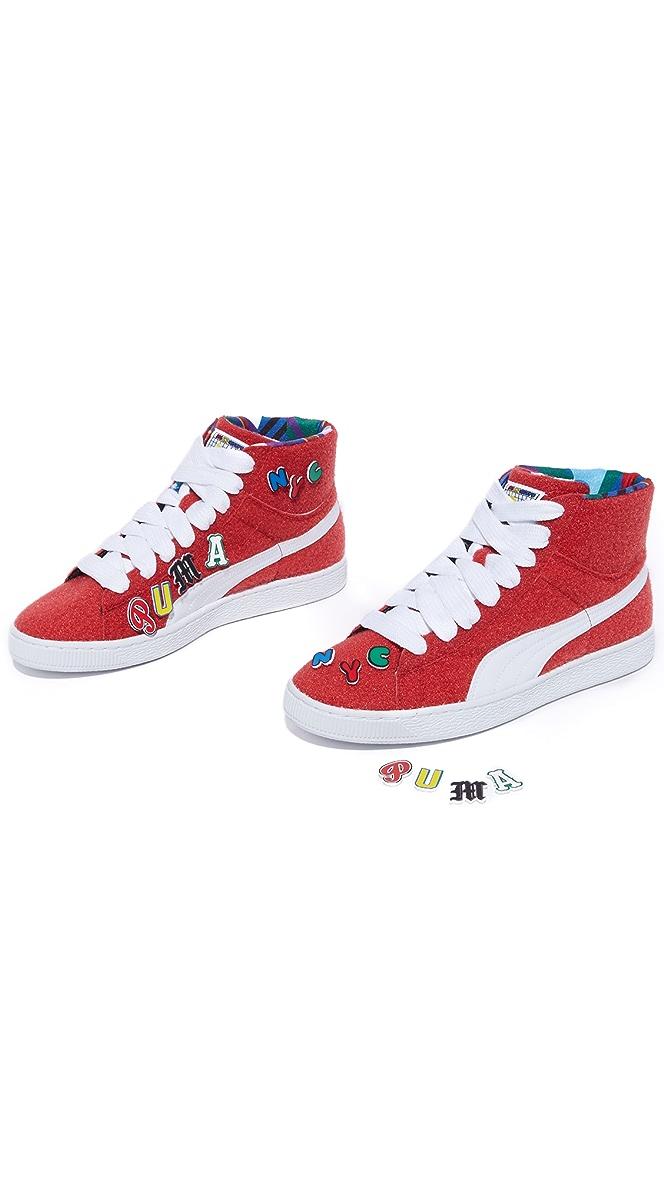 super popular 09117 31810 Basket Mid X Dee & Ricky Sneakers