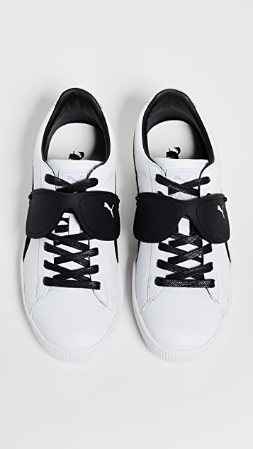 detailed look 22f40 552fb PUMA Select. x Karl Lagerfeld Suede Classic Sneakers