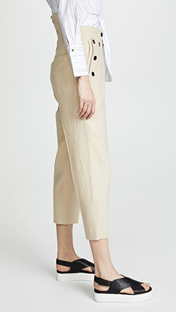 pushBUTTON Sailor Button Pants