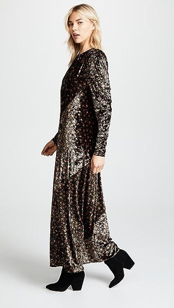 pushBUTTON Printed Dress