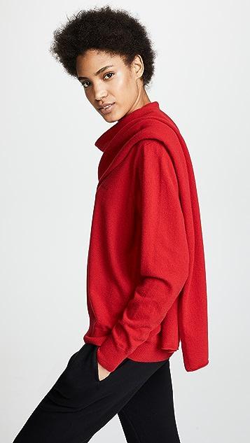 pushBUTTON Shawl Neck Collared Shirt
