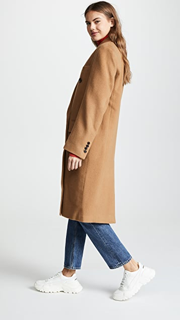 pushBUTTON Двубортное пальто