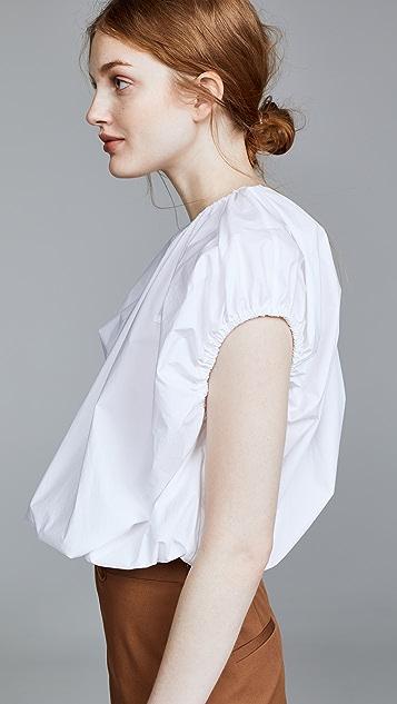 pushBUTTON Shirring Vest