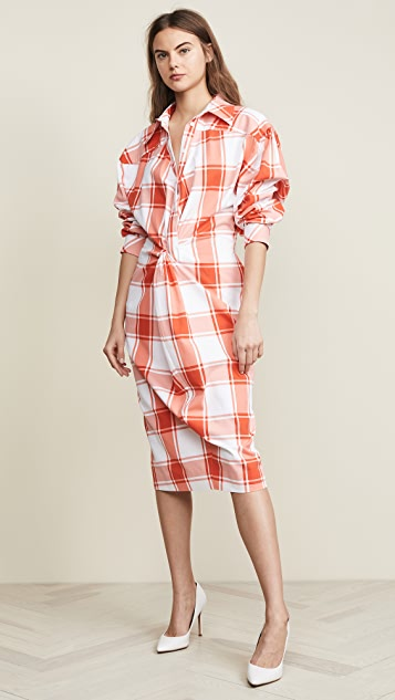 Gingham Dress by Push Button