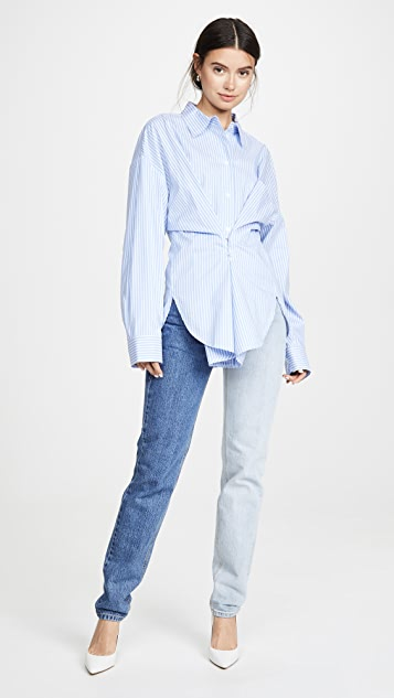 pushBUTTON Hook and Eye Shirt