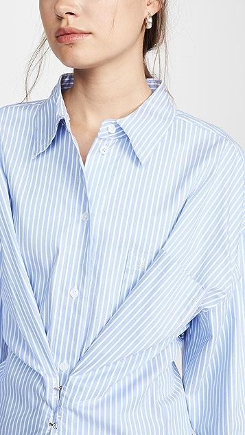 pushBUTTON Рубашка с крючками