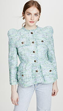 Overblown Tweed Jacket