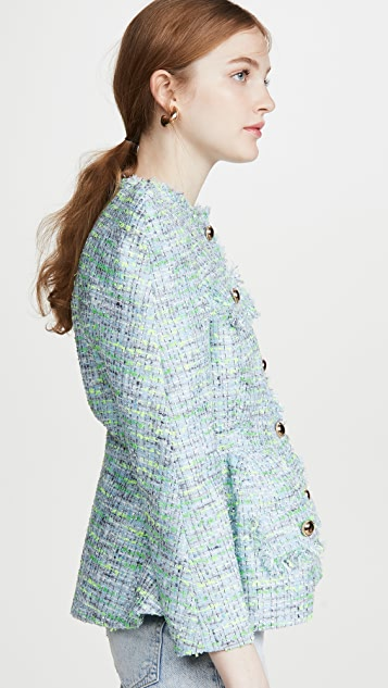 pushBUTTON Overblown Tweed Jacket