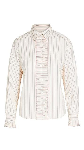 推扣设计 Frill Point 衬衫