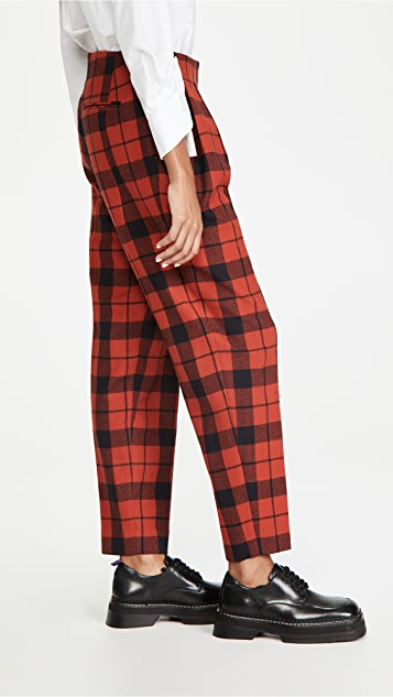 pushBUTTON Front Wrap Over Pants