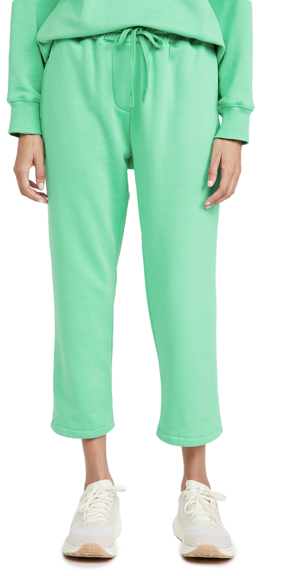 pushBUTTON Drawstring Green Jogger Pants