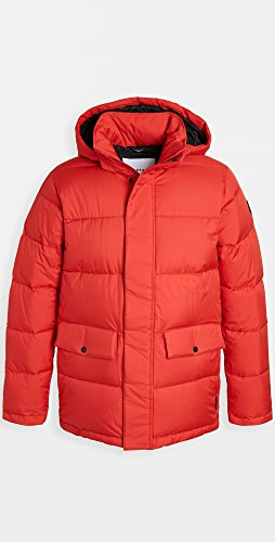 Quartz - Maguire Twill Hooded Down Jacket