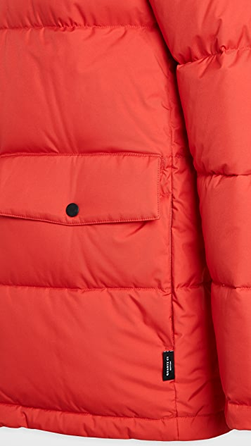 Quartz Maguire Twill Hooded Down Jacket