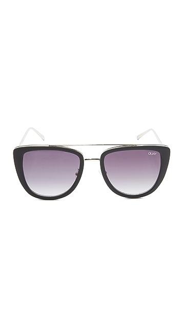 Quay Солнцезащитные очки French Kiss