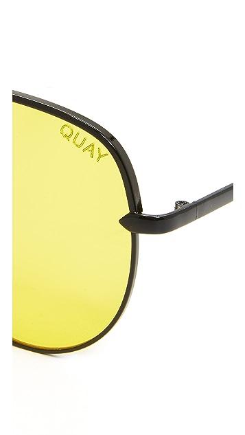 Quay Солнцезащитные очки-авиаторы x Desi Perkins Sahara