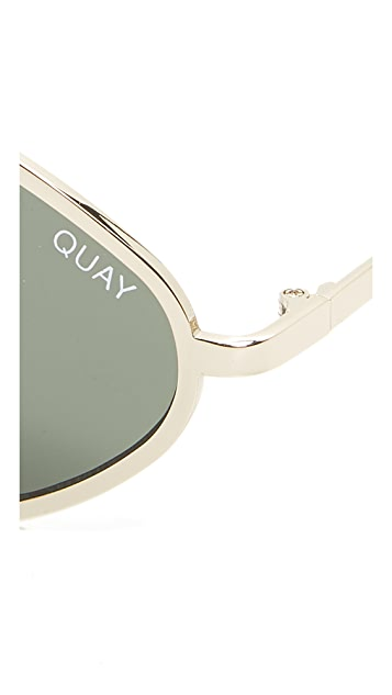 Quay #QUAYXKYLIE Purple Honey Sunglasses