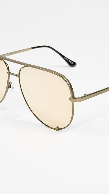 Quay x Desi Perkins High Key Sunglasses