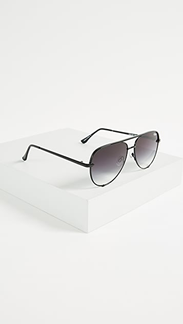 Quay x Desi Perkins High Key Mini Sunglasses
