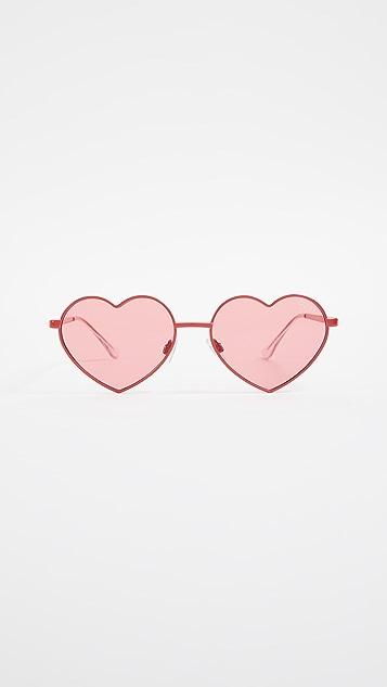Quay Heart Breaker Sunglasses